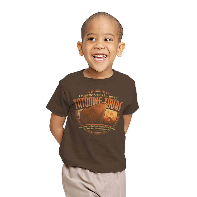 Tatooine Tours - Youth - T-Shirts - RIPT Apparel