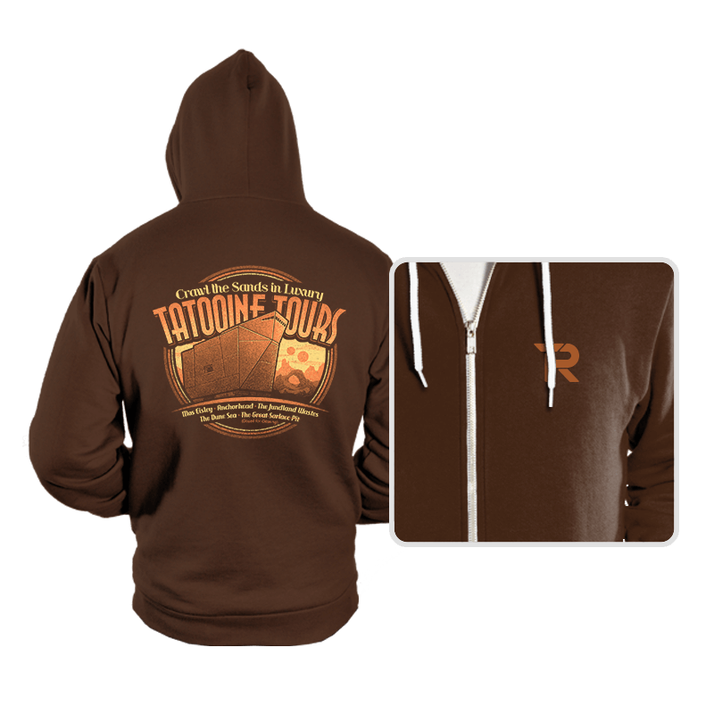 Tatooine Tours - Hoodies - Hoodies - RIPT Apparel