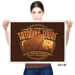 Tatooine Tours - Prints - Posters - RIPT Apparel