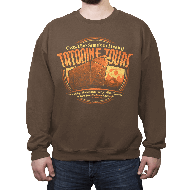 Tatooine Tours - Crew Neck - Crew Neck - RIPT Apparel