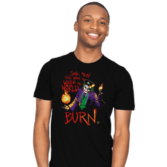 Watch the World Burn - Mens - T-Shirts - RIPT Apparel