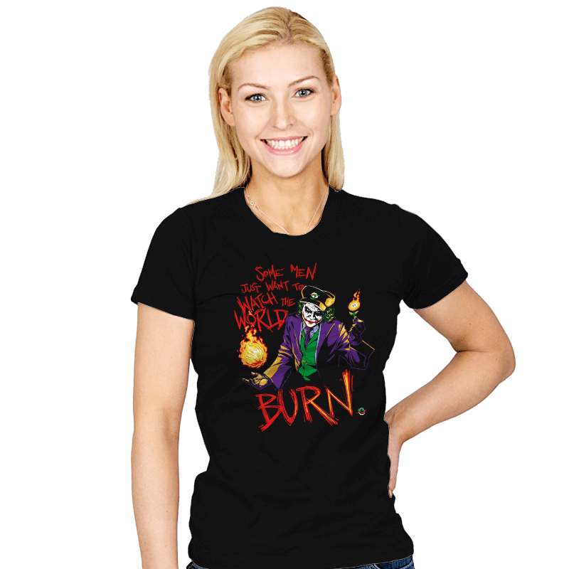 Watch the World Burn - Womens - T-Shirts - RIPT Apparel
