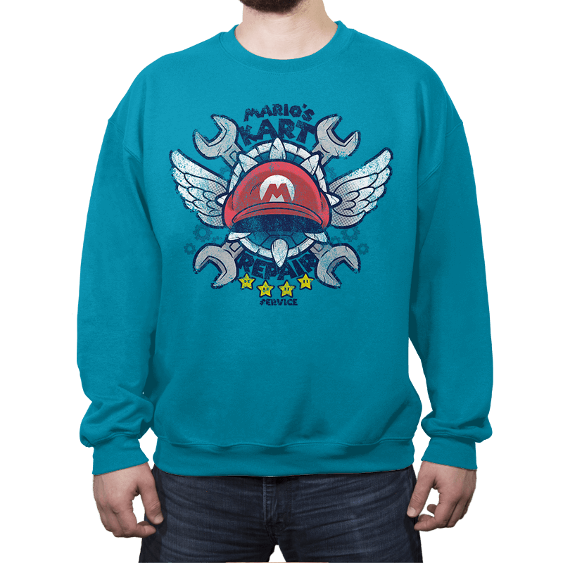Kart Repair - Crew Neck - Crew Neck - RIPT Apparel