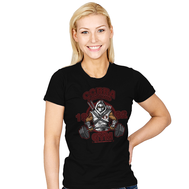 Cobra Command Gym - Womens - T-Shirts - RIPT Apparel