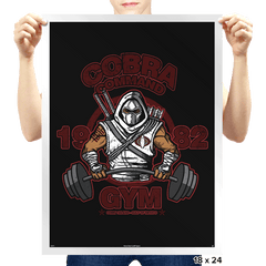 Cobra Command Gym - Prints - Posters - RIPT Apparel