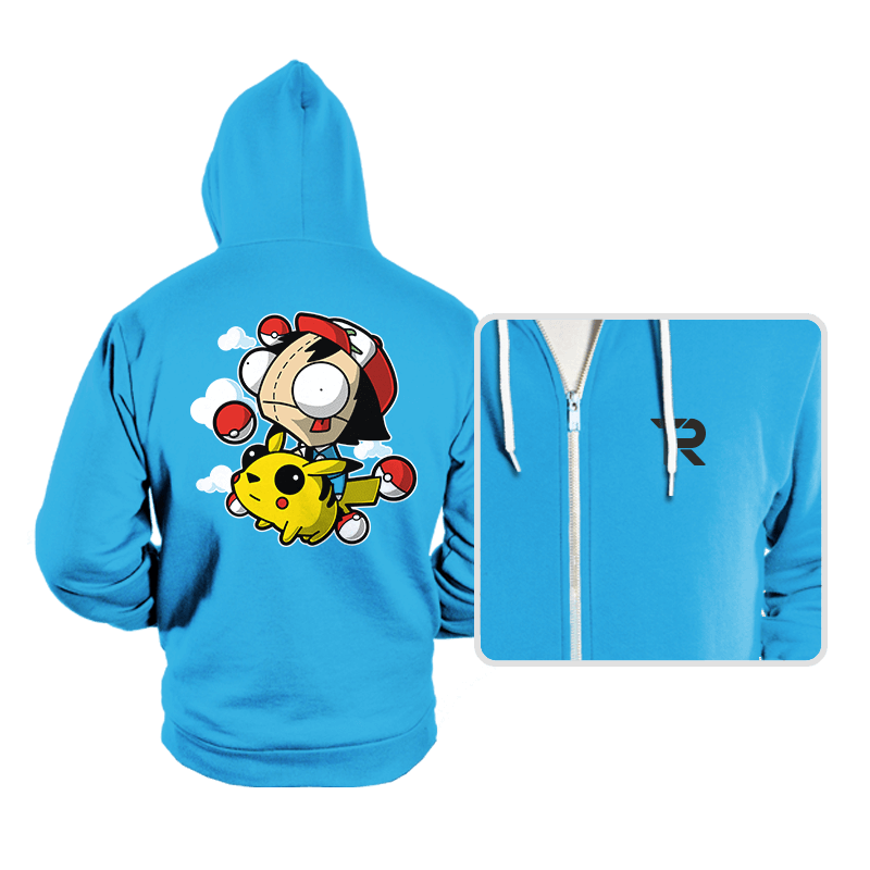 Invader Pokemon - Hoodies - Hoodies - RIPT Apparel