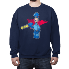 Block Man - Crew Neck - Crew Neck - RIPT Apparel