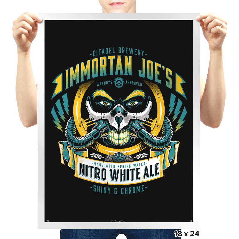 Nitro White Ale - Prints - Posters - RIPT Apparel