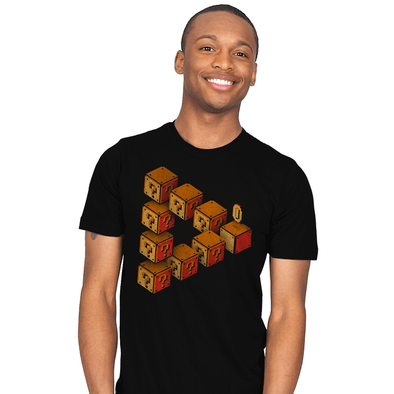 Mystery Block Illusion - Mens - T-Shirts - RIPT Apparel