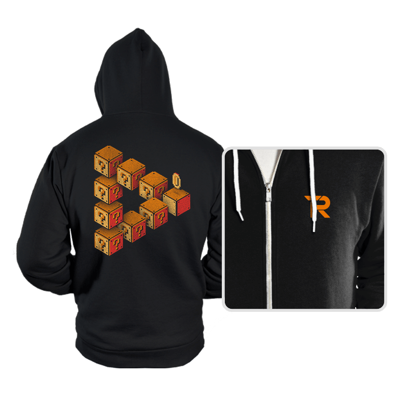 Mystery Block Illusion - Hoodies - Hoodies - RIPT Apparel