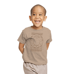 Vitruvian Neighbor - Youth - T-Shirts - RIPT Apparel