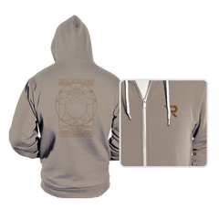 Vitruvian Neighbor - Hoodies - Hoodies - RIPT Apparel