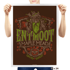 Entmoot Maple Mead - Prints - Posters - RIPT Apparel