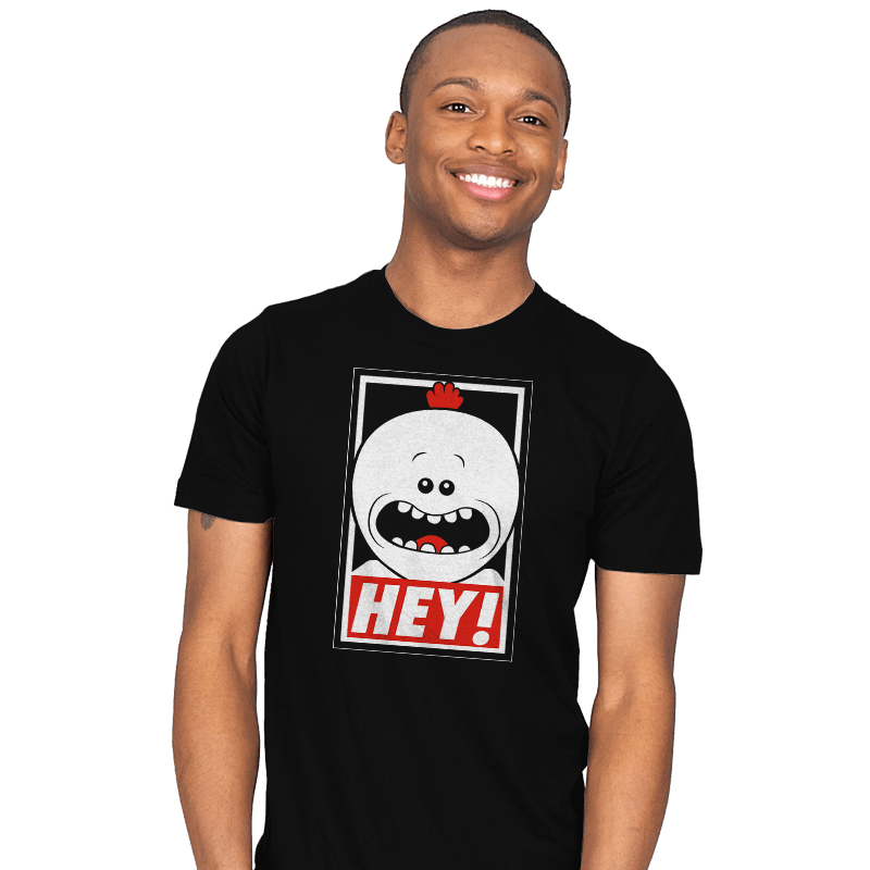 HEY! - Mens - T-Shirts - RIPT Apparel