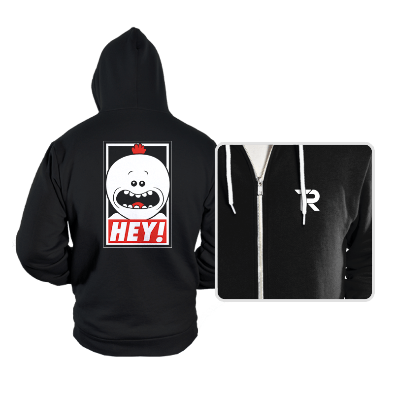 HEY! - Hoodies - Hoodies - RIPT Apparel