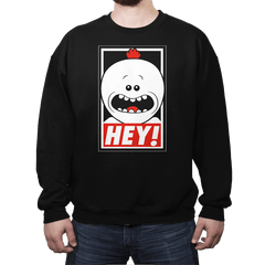 HEY! - Crew Neck - Crew Neck - RIPT Apparel