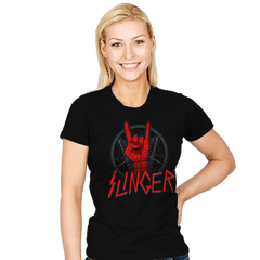 Web Slinger - Womens - T-Shirts - RIPT Apparel