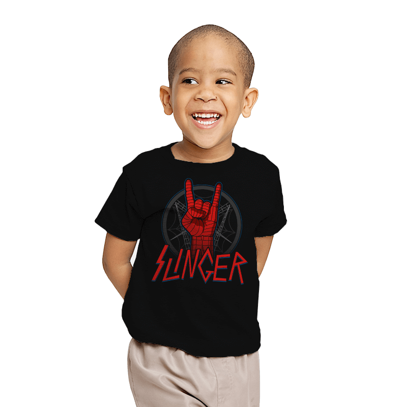 Web Slinger - Youth - T-Shirts - RIPT Apparel