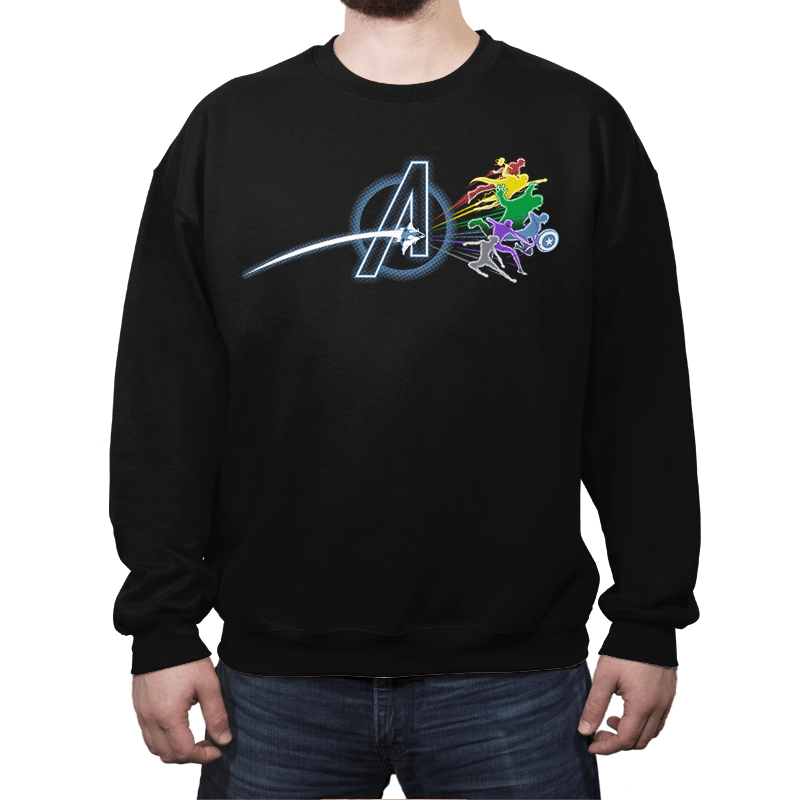 Avenging Side of the Earth - Crew Neck - Crew Neck - RIPT Apparel