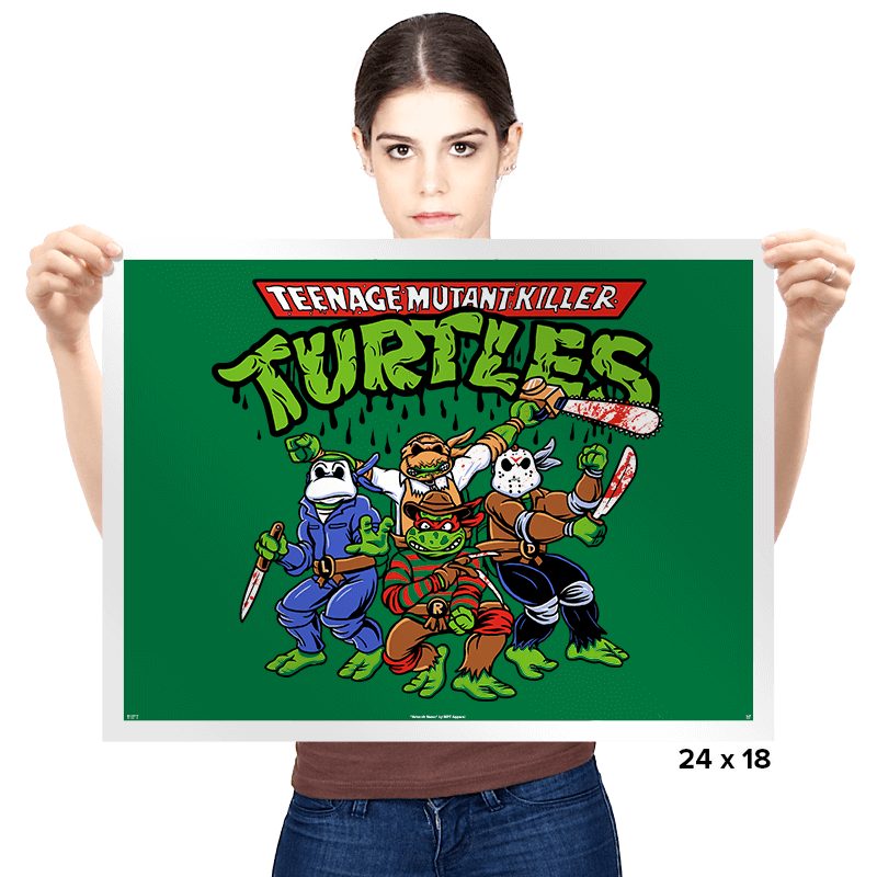 Killer Turtles - Prints - Posters - RIPT Apparel