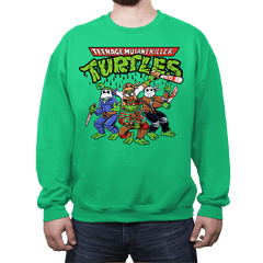 Killer Turtles - Crew Neck - Crew Neck - RIPT Apparel
