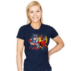 Family War - Womens - T-Shirts - RIPT Apparel
