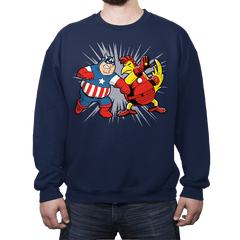 Family War - Crew Neck - Crew Neck - RIPT Apparel