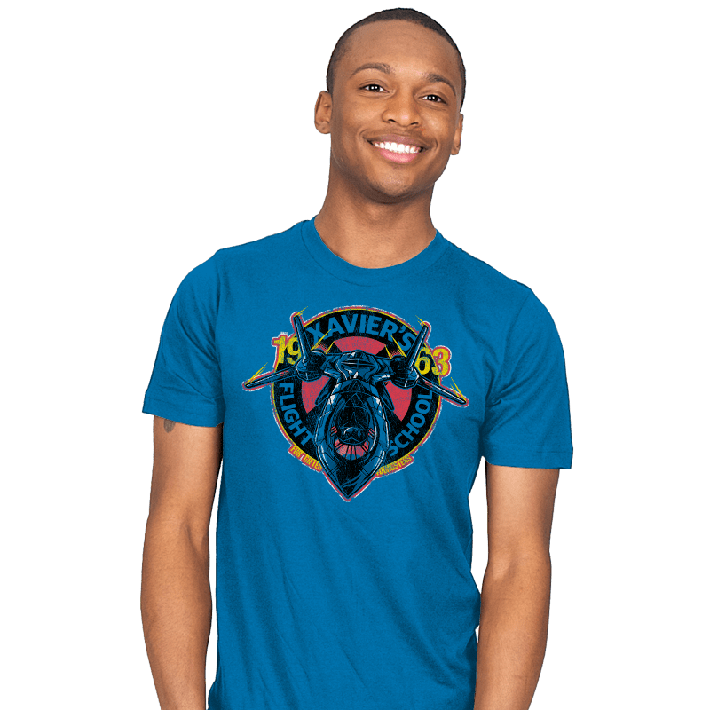 Xavier's Flight School - Mens - T-Shirts - RIPT Apparel