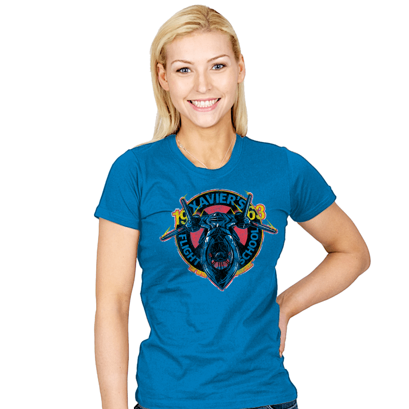 Xavier's Flight School - Womens - T-Shirts - RIPT Apparel