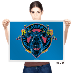 Xavier's Flight School - Prints - Posters - RIPT Apparel