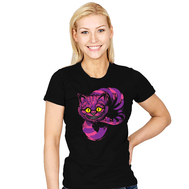 Grinning - Womens - T-Shirts - RIPT Apparel