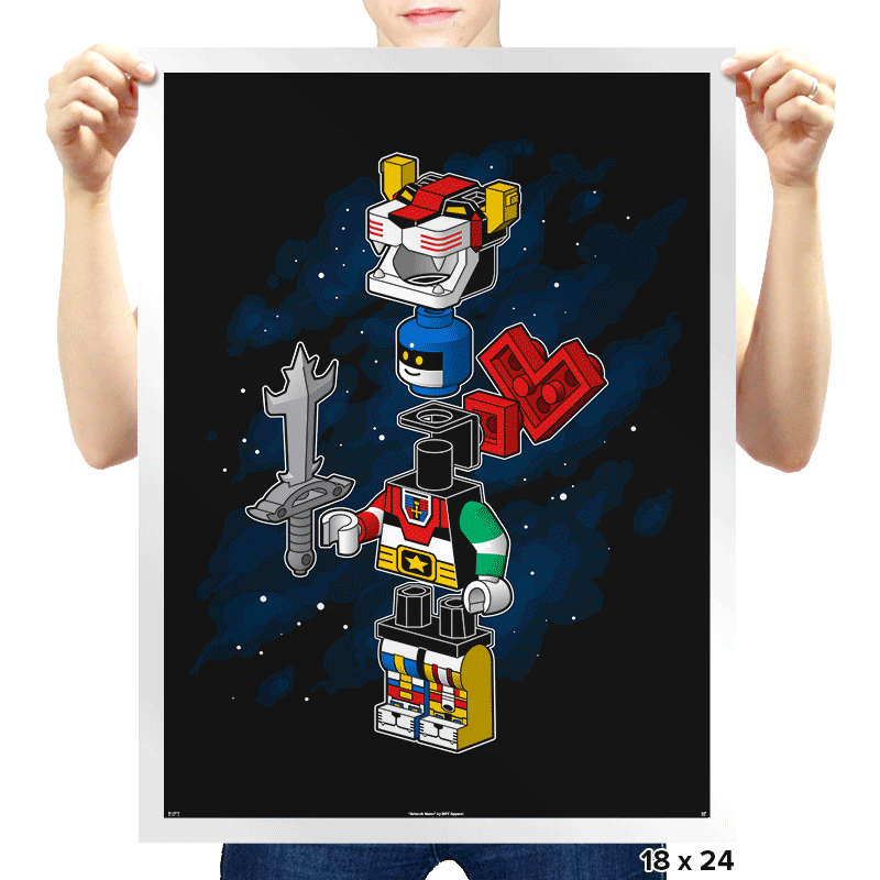 I'll Build The Head! - Prints - Posters - RIPT Apparel