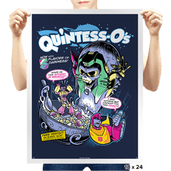 Quintess-O's - Prints - Posters - RIPT Apparel
