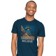 Believe in the Cosmos - Mens - T-Shirts - RIPT Apparel