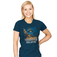 Believe in the Cosmos - Womens - T-Shirts - RIPT Apparel