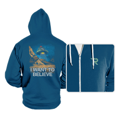 Believe in the Cosmos - Hoodies - Hoodies - RIPT Apparel
