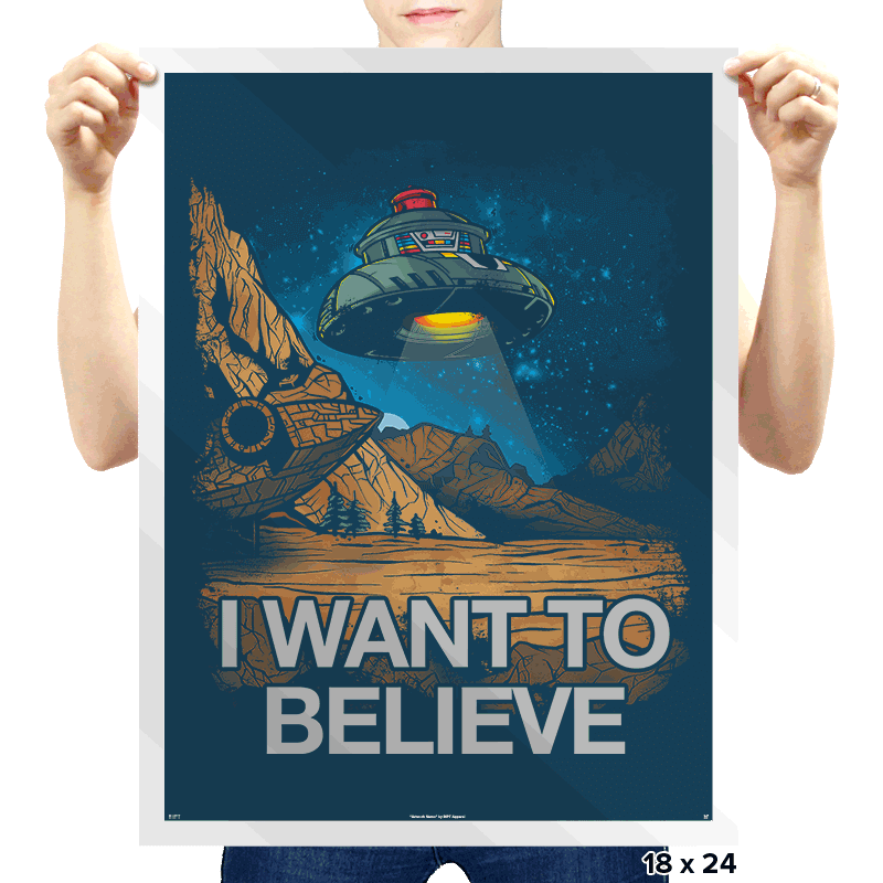Believe in the Cosmos - Prints - Posters - RIPT Apparel