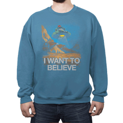 Believe in the Cosmos - Crew Neck - Crew Neck - RIPT Apparel