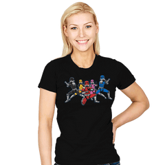 Power Troopers - Womens - T-Shirts - RIPT Apparel