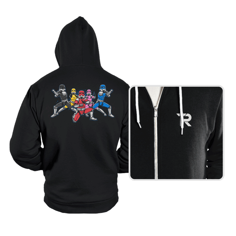Power Troopers - Hoodies - Hoodies - RIPT Apparel