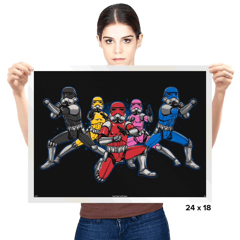 Power Troopers - Prints - Posters - RIPT Apparel