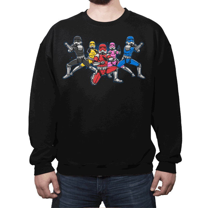 Power Troopers - Crew Neck - Crew Neck - RIPT Apparel
