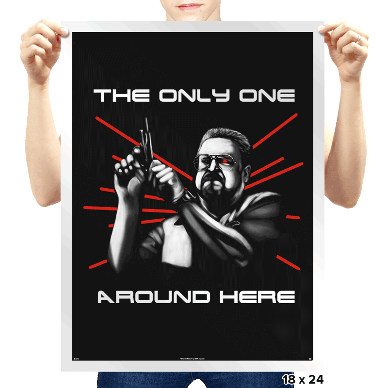 The Only One? - Prints - Posters - RIPT Apparel