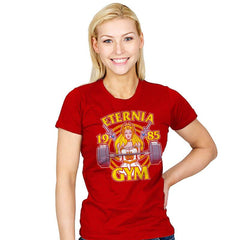Eternia Gym - Womens - T-Shirts - RIPT Apparel