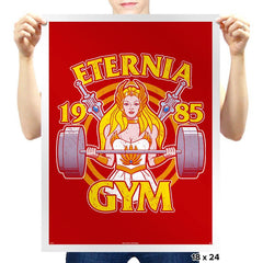 Eternia Gym - Prints - Posters - RIPT Apparel