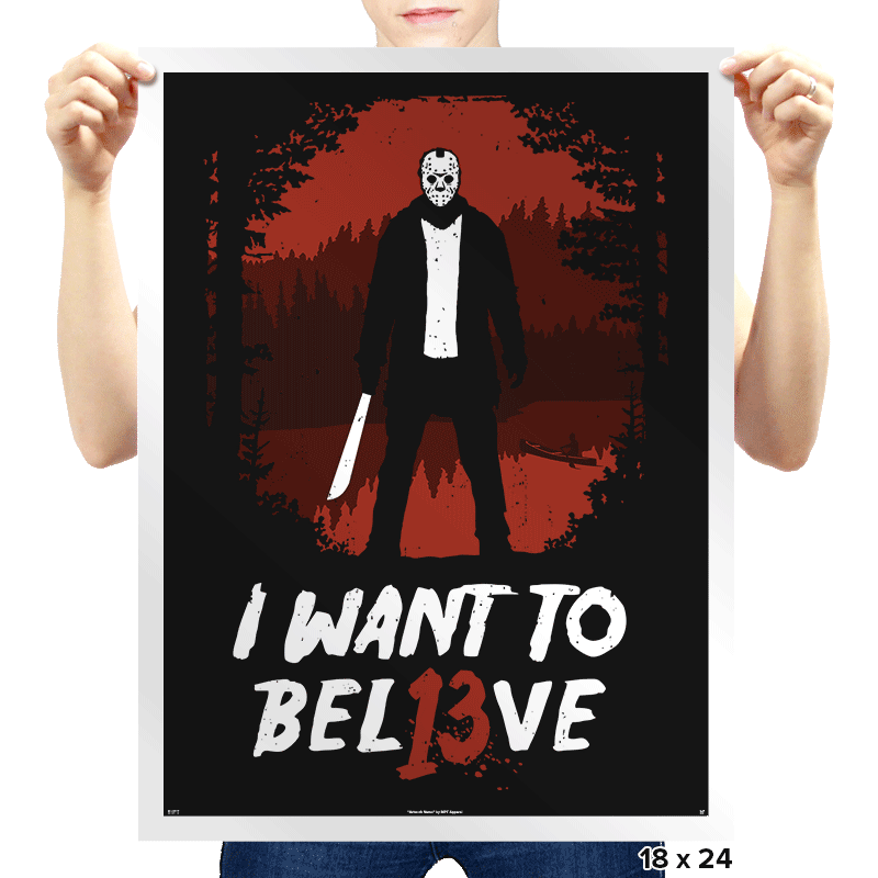 Jason Lives! - Prints - Posters - RIPT Apparel