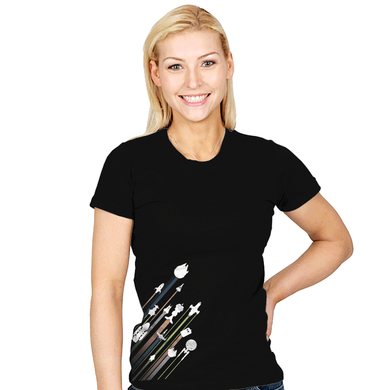 .5 Past lightspeed - Womens - T-Shirts - RIPT Apparel