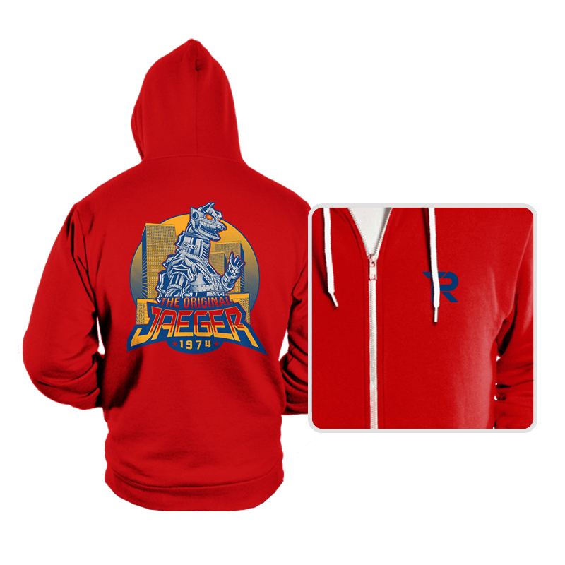 The Original Jaeger - Hoodies - Hoodies - RIPT Apparel
