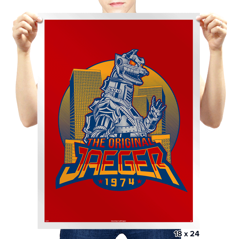The Original Jaeger - Prints - Posters - RIPT Apparel