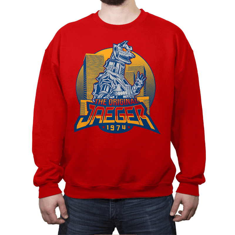 The Original Jaeger - Crew Neck - Crew Neck - RIPT Apparel